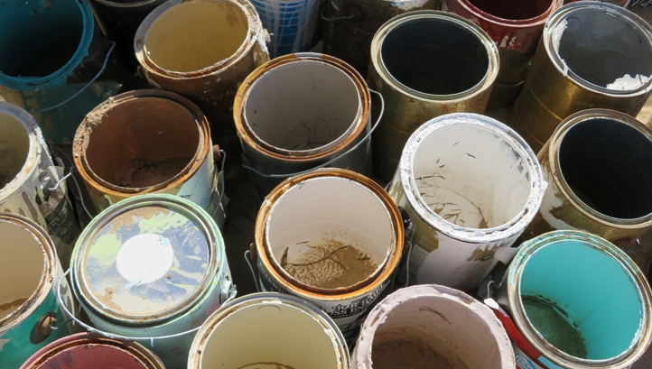 Dulux Trade estimates that more than 700 million litres of paint are sold annually, with more than 55 million litres of waste paint sent to landfill or incinerated in the UK every year