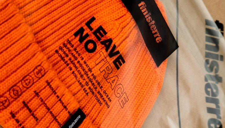 The bags will be rolled out across selected knitwear lines this month. Image: Finisterre