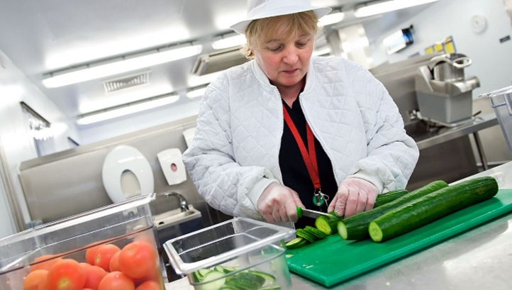 In 2018, more than 200 million single-use plastic items were used across NHS England's catering operations. Image: NHS Forth Valley.