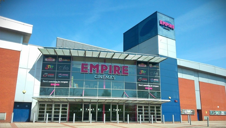Empire Birmingham Great Park cinema (pictured) will play host to the first of the arrays. Image: Elliott Brown/ CCNBY-SA 2.0