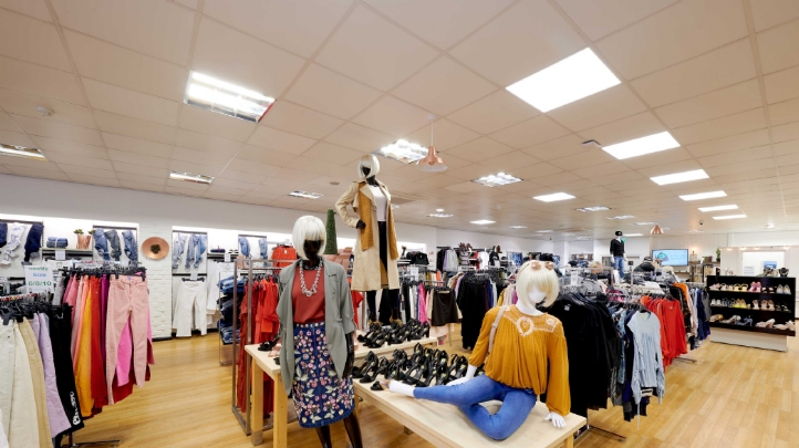 Pictured: Inside Newlife stores' shop in Moreton, Merseyside. Image: Newlife stores