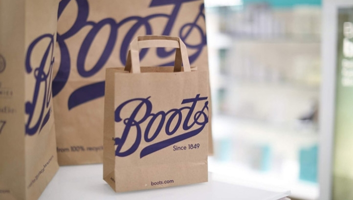 The move comes after the introduction of non-bleached paper bags at checkouts (pictured). Image: Boots UK