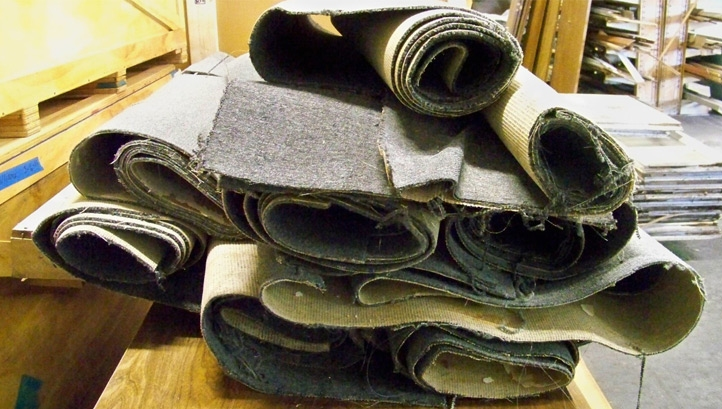 The report authors are urging Ministers to speed up the introduction of new waste and resources legislation around carpets. Image: Reuse Warehouse/ CC BY 2.0
