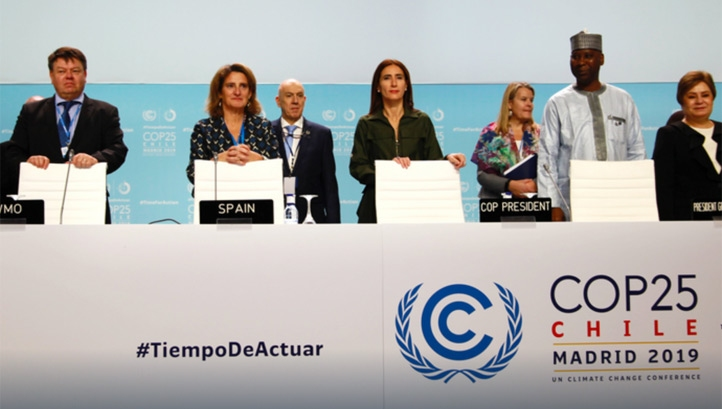 Talks at COP25 were due to conclude on Friday evening (13 December), but ran through to Sunday afternoon. Image: UNFCC