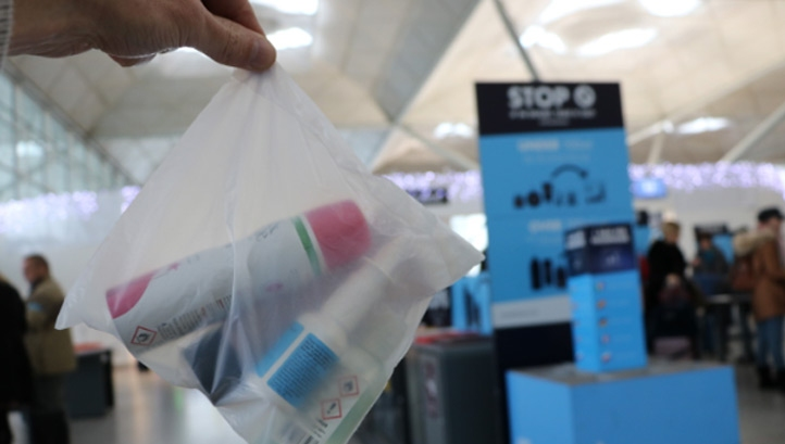 50,000 of the new bags will be handed out during one of the Airport's busiest times of the year