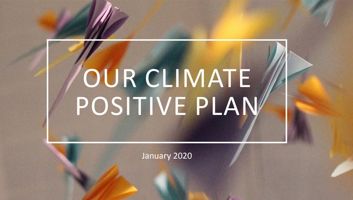 The plan builds on the firm's existing pledge to reach net-zero carbon by 2021