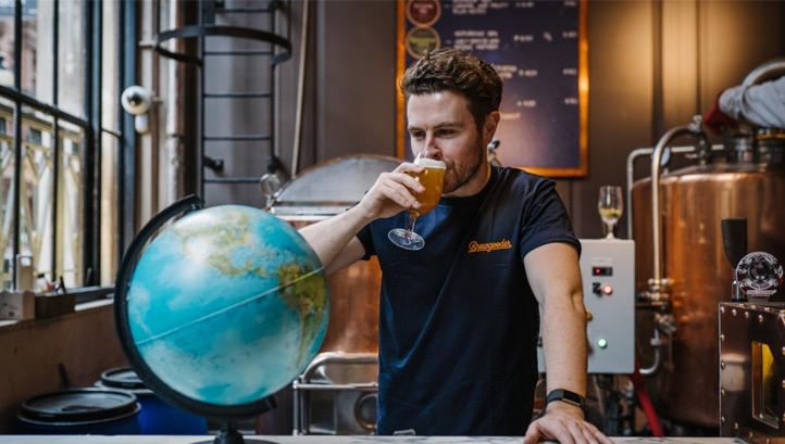 Of the 250 participating breweries, 150 are UK-based