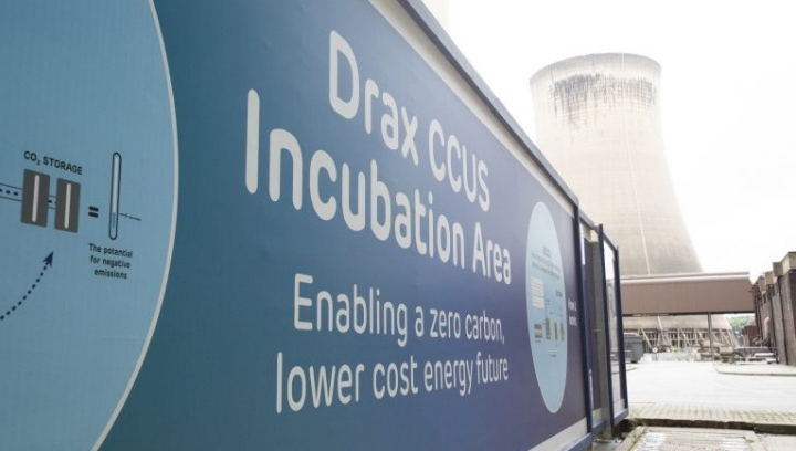 Drax announced its ambitions to become carbon negative by 2030 at the UN's COP25 summit in December last year