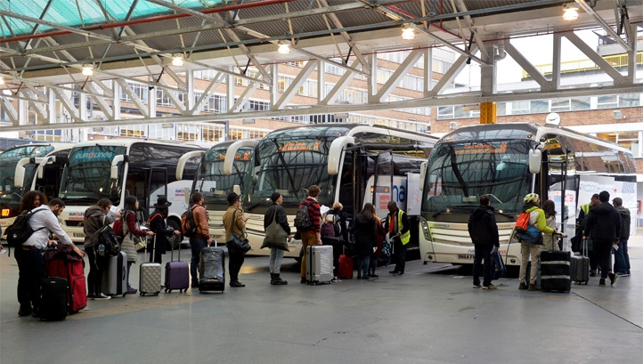 National Express has nine bus garages and 650+ coach destinations in the UK