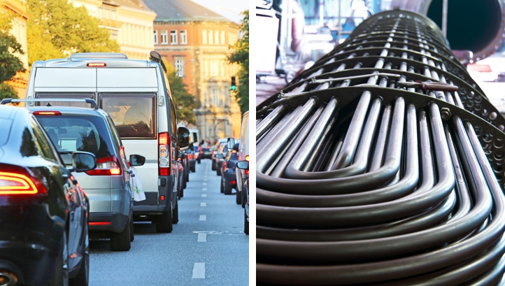 Major efforts are taking place to ensure that decarbonisation occurs in both transport and heat