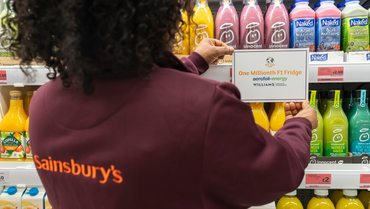 The technology has delivered annual carbon savings of 8,783 tonnes of CO2e for Sainsbury's