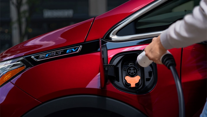Pictured: The updated version of Chevrolet's Bolt EV. Image: GM