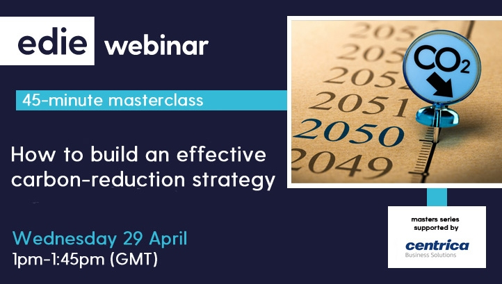 edie's masterclass provides a deep dive into developing decarbonisation plans.