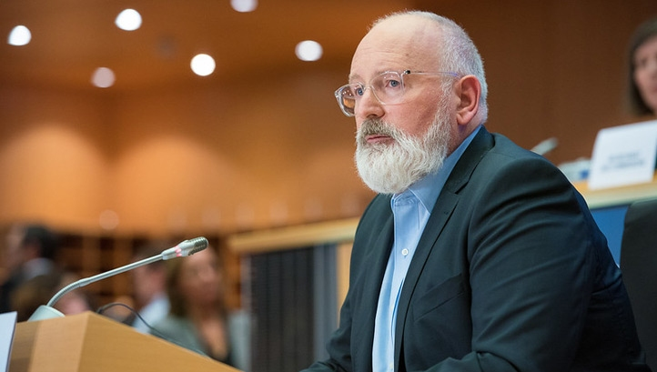 First Vice-President of European Commission Frans Timmermans of the Netherlands, image: European Parliament Flickr