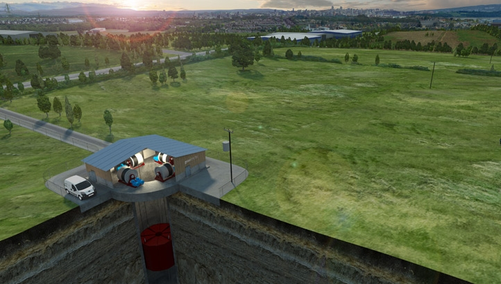 Gravitricity's concept has secured £650,000 in government funding from Innovate UK