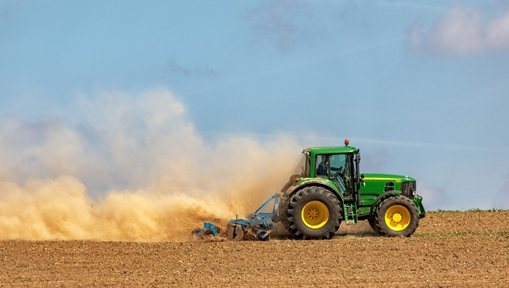 Farming is one of the sectors most exposed to environmental and climate risk