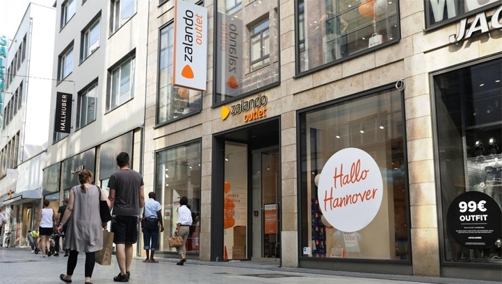 Zalando's online platform caters to 28 million customers in 17 markets