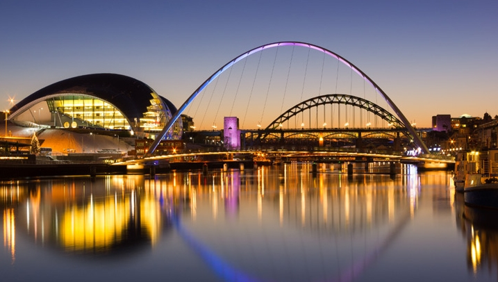 Councillors in cities such as Newcastle (pictured) have already pledged to align planning and policy with the Global Goals