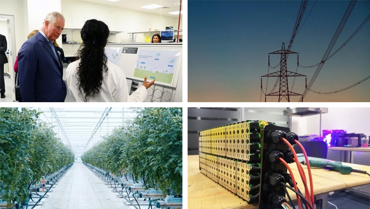 This month's innovations could drive significant change in the built environment, agri-food and waste management sectors