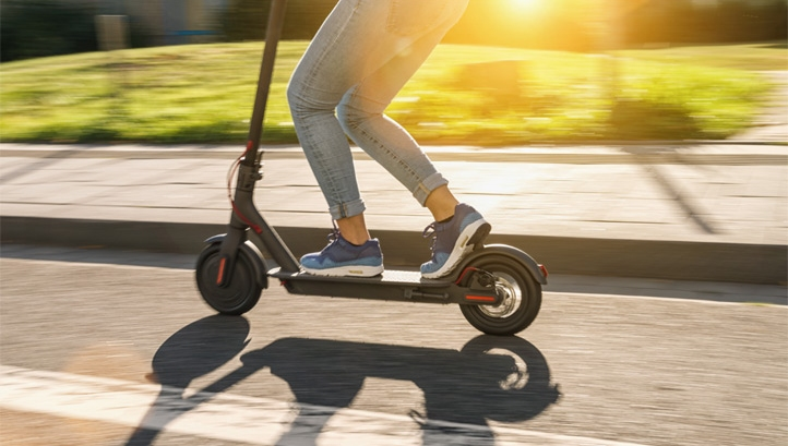 e-scooters were legalised in the UK in June