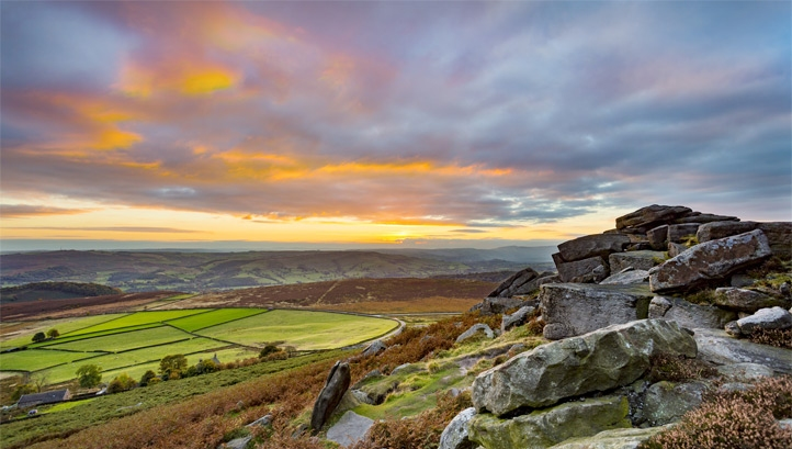 Pictured: The Peak District