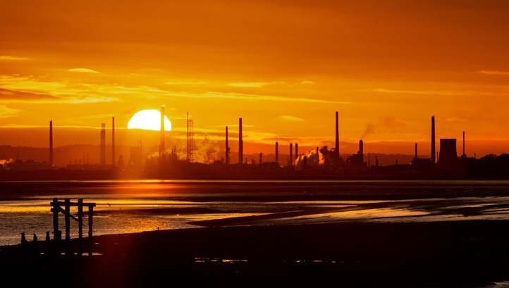 New dawn: The 10-point plan will radically change key industrial sectors in the UK in order to eliminate the nation's contribution to climate change