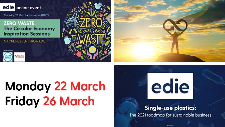 The week will provide edie readers with an array on insight as to how to embrace the circular economy