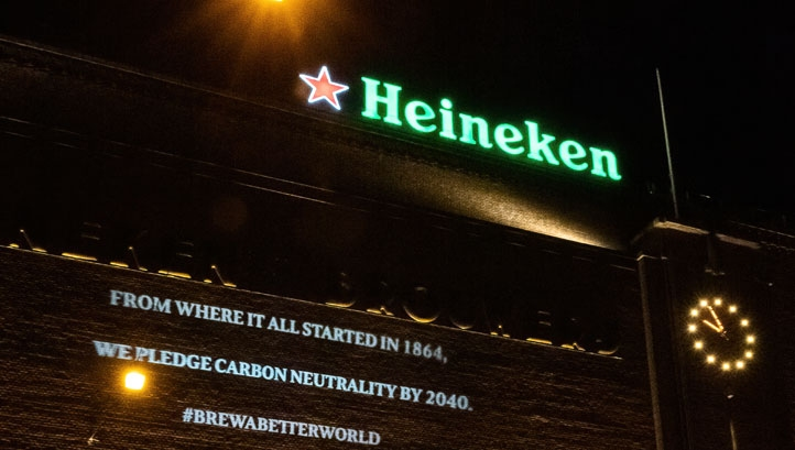 Heineken is also joining the Business Ambition for 1.5C, the Race to Zero and the RE100 programme to accelerate decarbonisation and increase clean energy uptake