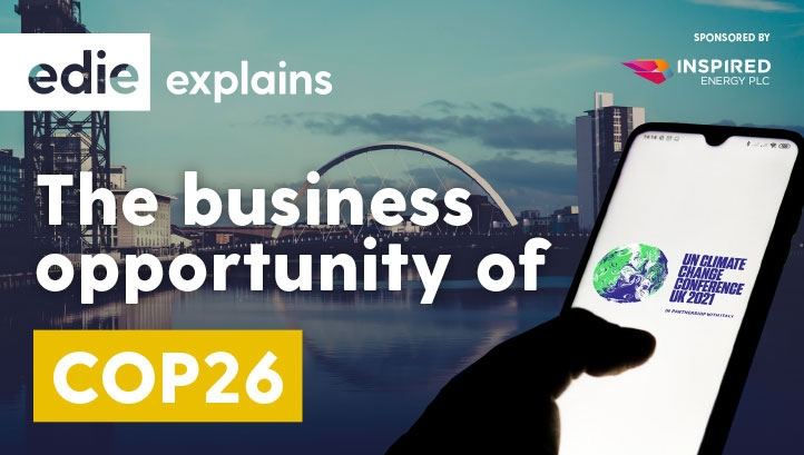 The COP26 business guide is free to download for all edie users