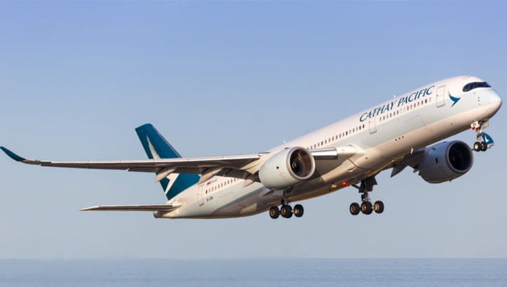 Cathay Pacific operates a fleet of more than 150 aircraft, serving destinations across the US, Asia, Europe and Australia