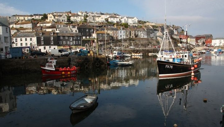 Pictured: Cornwall's Mevagissey Harbor.  Image: Defra