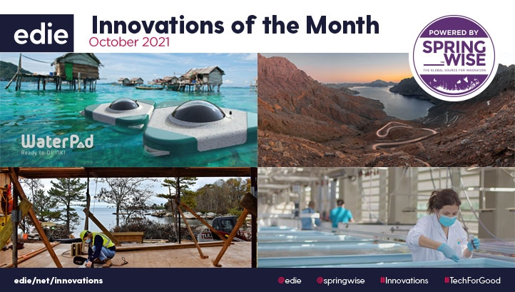 Innovations highlighted here could protect marine habitats, improve water access and accelerate electric vehicle adoption