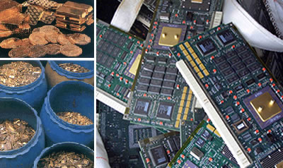 Precious Metal Recovery - Gold, Silver, Platinum, Palladium - From Electronic Scrap, Manufacturing Waste, Pastes, Catalysts, WEEE & Circuit Board Material