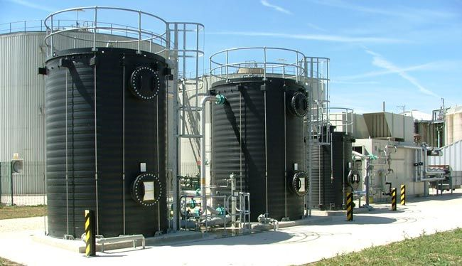 Biogas Desulphurisation
