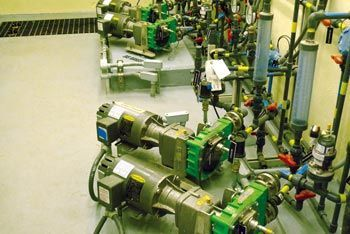 Peristaltic Pumps Waste Less in Wastewater Treatment