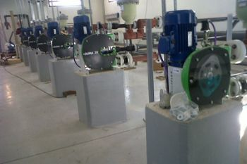 Peristaltic Pumps at the heart of Water Treatment Process