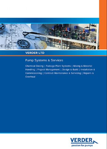 New brochure: Pumping systems & services