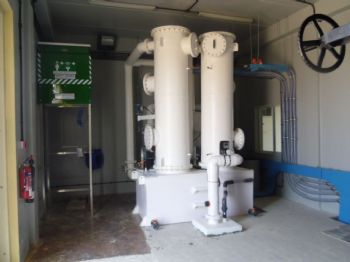 Controlling odours at waste water treatment plants around the United Arab Emirates