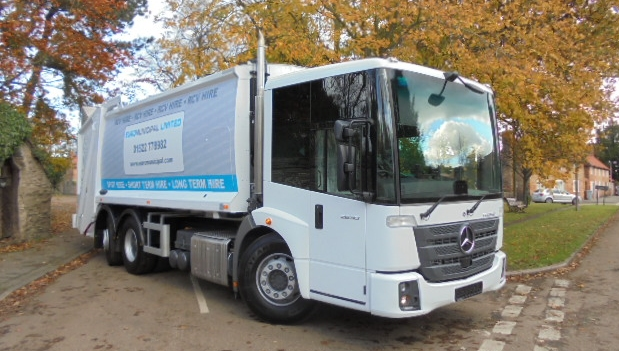 Euro 6 Rear Steer Refuse Collection Vehicle Hire