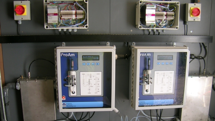 Proam Ammonia Monitor for intake protection at Water & Drink production sites
