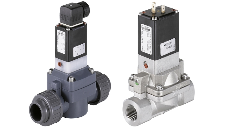 Type 5282 & 0142 - Servo-Assisted Diaphragm Valves