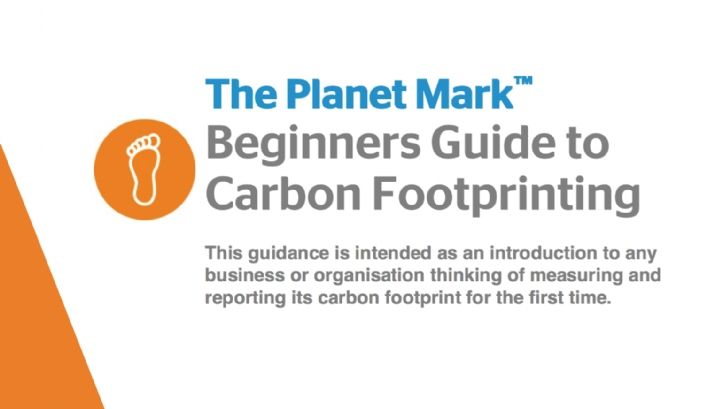 Carbon management: a beginners guide to carbon footprinting
