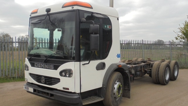 FOR SALE: 2009 YEAR 6X4 EURO 5 DENNIS ELITE 2 CHASSIS CAB