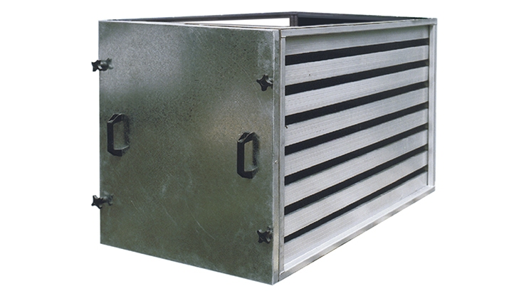 AAC Skeleton-Frames for Airport Terminal Building Air Handling Units
