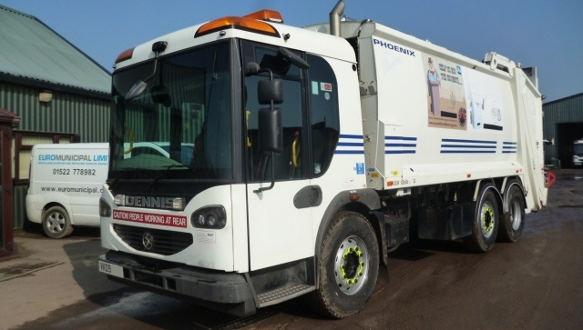 FOR SALE: 2009 YEAR 6X2 EURO 5 NARROW DENNIS REFUSE VEHICLE WITH PHOENIX 2 BODY AND TERBERG LIFT