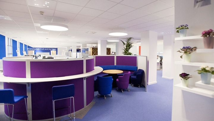 Case Study: Mondelez - smartlighting in Offices and Production Facilities
