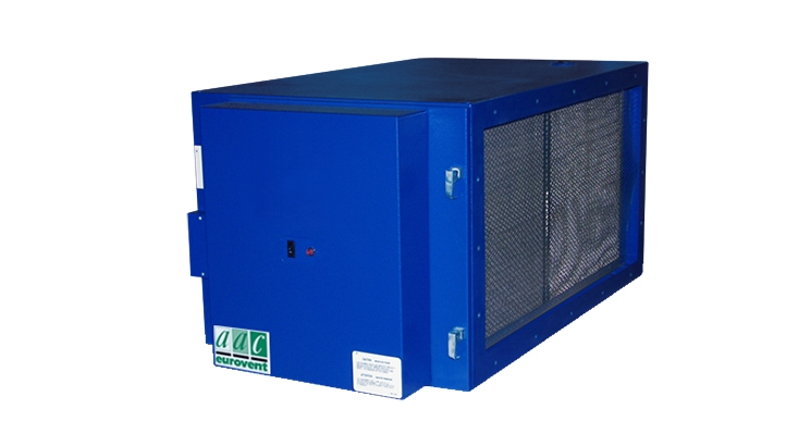 ESP Electrostatic Air Cleaners for Commercial Kitchens