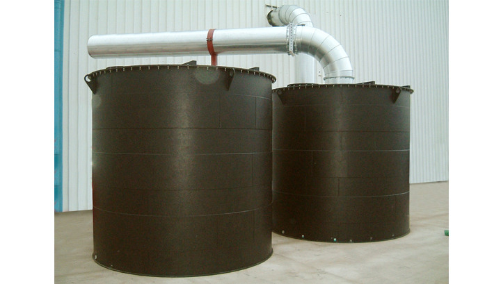 Bulk Filter Vessels for High- Performance Odour Control and VOC Reduction in Wastewater Treatment