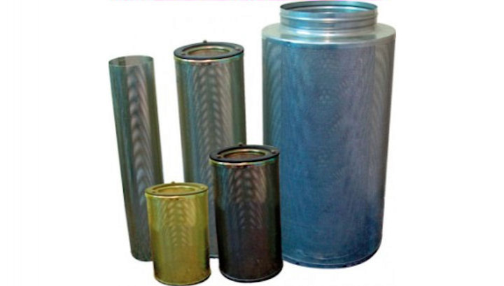 AAC CF Carbon Canisters for Odour Control in Sewage Treatment Plants