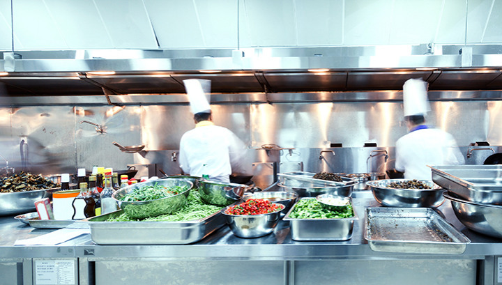 Commercial Kitchen Extraction and the AAC Colourcell Media Filter System